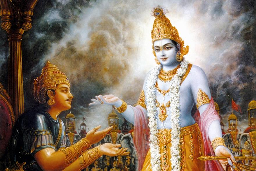 Image courtesy - https://www.bhagavad-gita.us/the-bhagavad-gita-in-audio-english